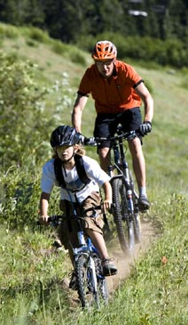 Mountain Biking at Crystal Mountain Resort